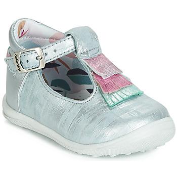 Sapatos Rapariga Sapatilhas de cano-alto Catimini BIMA Azul / Prateado