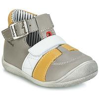 Sapatos Rapaz Sandálias Catimini TIMOR Cinza / Mostarda