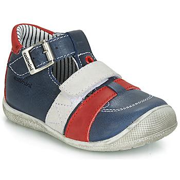 Sapatos Rapaz Sandálias Catimini TIMOR Marinho / Vermelho