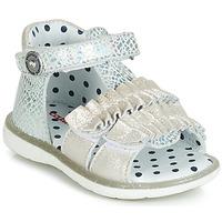 Sapatos Rapariga Sandálias Catimini BIRA Prata