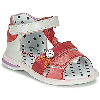 Sapatos Rapariga Sandálias Catimini GOROKA Branco