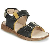 Sapatos Rapaz Sandálias Catimini SUREAU Preto