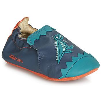 Sapatos Rapaz Chinelos Catimini CADANO Marinho / Laranja
