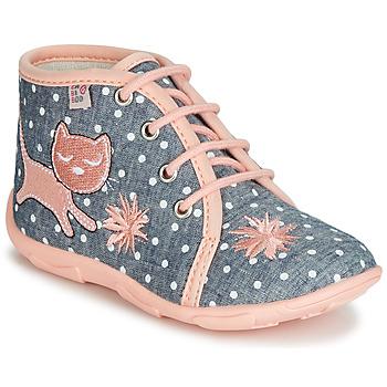 Sapatos Rapariga Chinelos GBB MERMIDA Cinza / Rosa