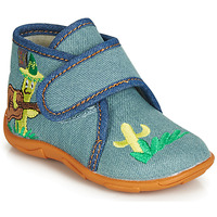 Sapatos Rapaz Chinelos GBB PLAZZO Azul