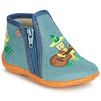 Sapatos Rapaz Chinelos GBB FERNANDO Azul