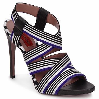 Sapatos Mulher Sandálias Missoni RM19 Azul / Branco