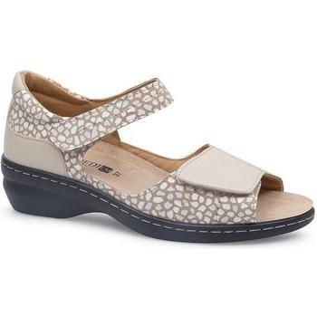 Sapatos Mulher Sandálias Calzamedi FASHIO BEGE