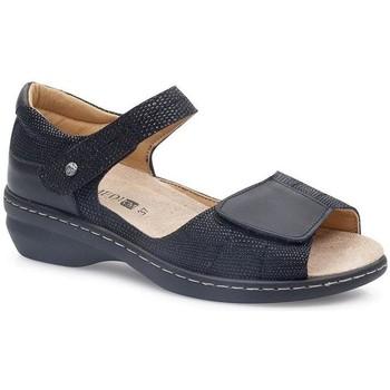 Sapatos Mulher Sandálias Calzamedi FASHIO PRETO