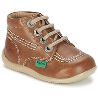 Sapatos Criança Botas baixas Kickers BILLY Camel