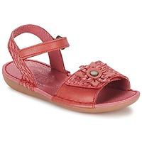 Sapatos Rapariga Sandálias Kickers EVANA Rosa / Coral