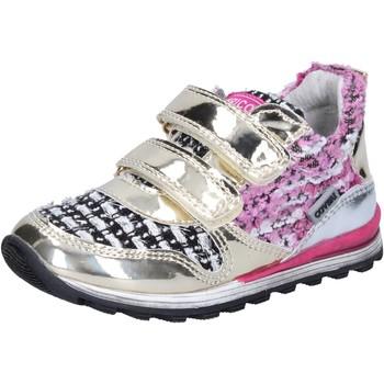 Sapatos Rapariga Sapatilhas Enrico Coveri BX821 Ouro
