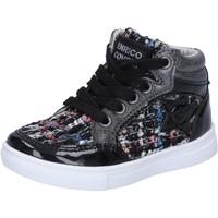 Sapatos Rapariga Sapatilhas de cano-alto Enrico Coveri BX822 Preto