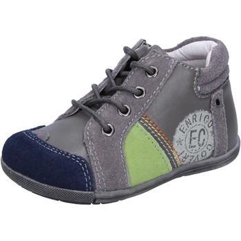 Sapatos Rapaz Sapatilhas Enrico Coveri BX827 Cinza