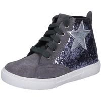 Sapatos Rapariga Sapatilhas de cano-alto Enrico Coveri BX839 Cinza