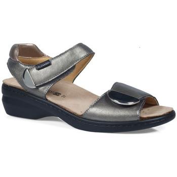 Sapatos Mulher Sandálias Calzamedi S  ELIGIA PRATA