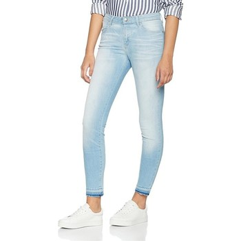 Textil Mulher Gangas Skinny Wrangler Skinny Sunkissed W28KLE86K blue
