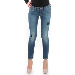 Textil Mulher Gangas Skinny Lee Jeansy  Lynn Skinny L357DNXA blue