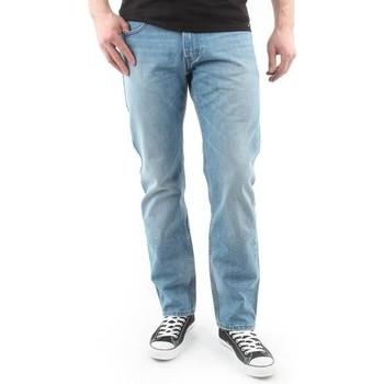 Textil Homem Calças Jeans Lee Spodnie Męskie  Blake blue