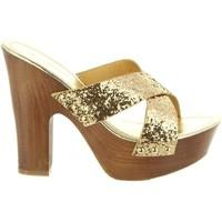 Sapatos Mulher Sandálias Top Way B736910-B7200 Gold