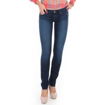 Textil Mulher Gangas Skinny Wrangler Jeans  Skyline W26FX754R blue