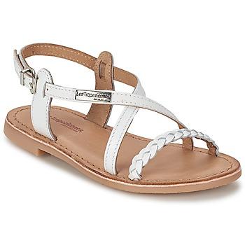 Sapatos Rapariga Sandálias Les Tropéziennes par M Belarbi BALADIN Branco