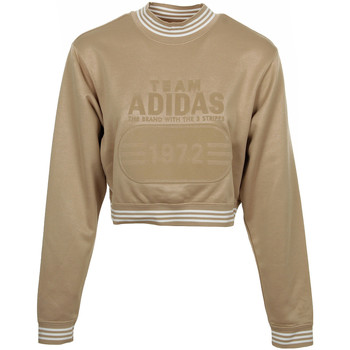 Textil Mulher Sweats adidas Originals Fashion League Sweat Ouro