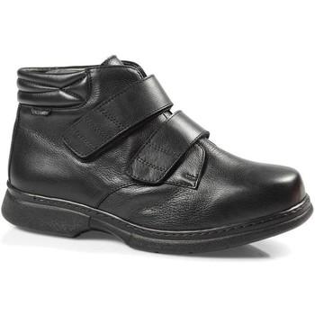 Sapatos Homem Botas baixas Calzamedi S  GALATHEA NEGRO