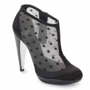 Sapatos Mulher Botas baixas Azzaro INTERLUDE Preto