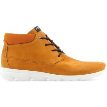 Sapatos Homem Botas baixas Ecco Mens  Calgary 834334-59685 brown