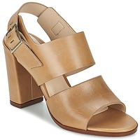 Sapatos Mulher Sandálias Dune London CUPPED BLOCK HEEL SANDAL Bege