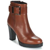 Sapatos Mulher Botins Betty London JARAMBOLE Castanho