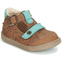 Sapatos Rapaz Sandálias GBB AREZO Castanho / Azul