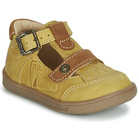 Sapatos Rapaz Sandálias GBB AREZO Mostarda