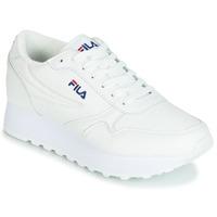 Sapatos Mulher Sapatilhas Fila ORBIT ZEPPA L WMN Branco