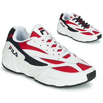 Sapatos Homem Sapatilhas Fila VENOM LOW Branco / Vermelho