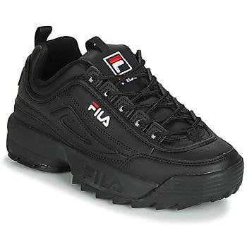 Sapatos Mulher Sapatilhas Fila DISRUPTOR LOW WMN Preto