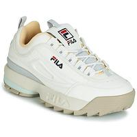 Sapatos Mulher Sapatilhas Fila DISRUPTOR CB LOW WMN Branco / Cinza