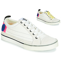 Sapatos Mulher Sapatilhas Diesel D-VELOWS LOW PATCH W Branco