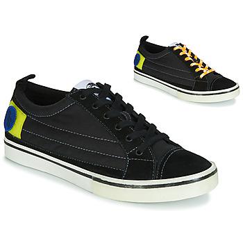Sapatos Homem Sapatilhas Diesel D-VELOWS LOW PATCH Preto