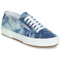 Sapatos Sapatilhas Superga 2750 TIE DYE DENIM Azul