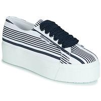 Sapatos Mulher Sapatilhas Superga 2790 COT MULTI STRIPE W Branco