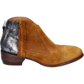 Sapatos Mulher Botas baixas Moma Botins BT10 Amarelo