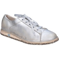 Sapatos Mulher Sapatilhas Moma BT47 Prata