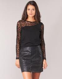 Textil Mulher Tops / Blusas Moony Mood JOULETTE Preto