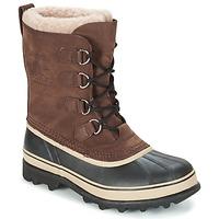 Sapatos Homem Botas de neve Sorel CARIBOU Castanho