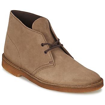Sapatos Homem Botas baixas Clarks DESERT BOOT Castanho
