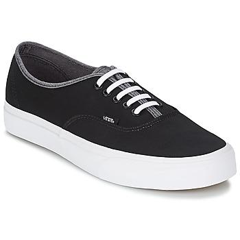 Sapatos Homem Sapatilhas de cano-alto Vans AUTHENTIC Preto / Cinza
