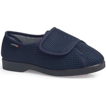 Sapatos Mulher Sapatilhas Calzamedi SAPATOS  DOMESTICO AZUL