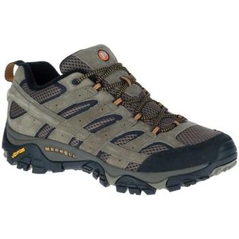 Sapatos Homem Sapatos de caminhada Merrell Moab 2 Ventilator Cinzento